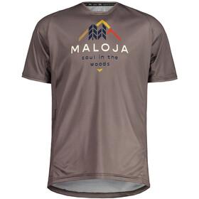 Maloja SchwarzerleM. Multi Short Sleeve Multisport Jersey Men, szary